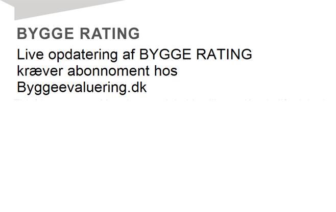 BYGGE RATING for virksomheden med cvr-nr. 30599829